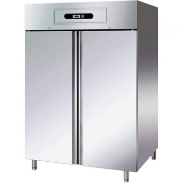 ARMADIO FRIGORIFERO 2 ANTE GN2/1 BT -18° -22° INOX professionale frigo ventilato