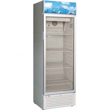 Vetrina refrigerata 1 ANTA vetro +2/+8 C BIANCA frigoriferi professionali 244 L