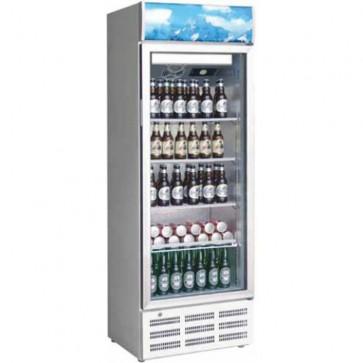 Vetrina refrigerata 1 ANTA vetro +2/+8 C BIANCA frigoriferi professionali 290 L