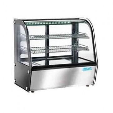 Vetrina riscaldata cm 68x45 2 Piani Ventilata Brioches Professionale vetrinetta