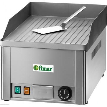 FRY top elettrico professionale piastra RIGATA bistecchiera elettrica hamburger
