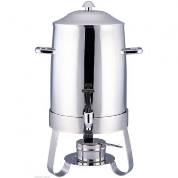 Distributore per caffe lt 9 con bruciatore ad alcool bevande calde professionale