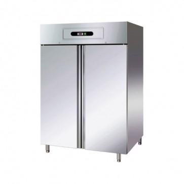 ARMADIO FRIGORIFERO 2 ANTE GN2/1 -2° +8° INOX professionale frigo ventilato 1325