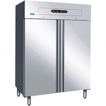 ARMADIO REFRIGERAT STATICO professionale acciaio inox ristoranti cucine GN1200DT