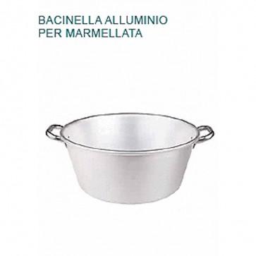 BACINELLA Alluminio Ø cm 40X17H PER MARMELLATA Pentola Padella Pentole Agnelli