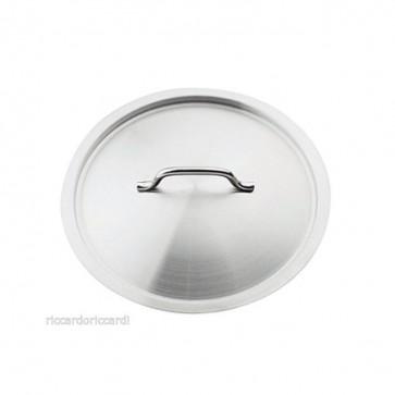 COPERCHIO rotondo acciaio inox Ø cm 18 con Manico Professionale Pentole Agnelli