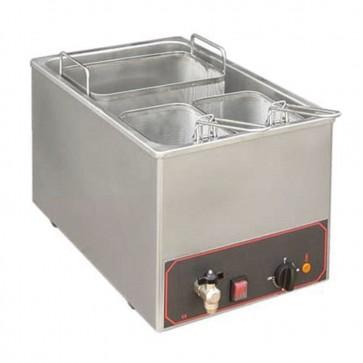 Cuocipasta elettrico da banco 1 vasca litri 25 con 3 cestelli professionale MF