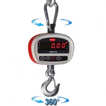 Dinamometro elettronico portata Kg 500 div. g 200 bilancia aerea appesa CS500