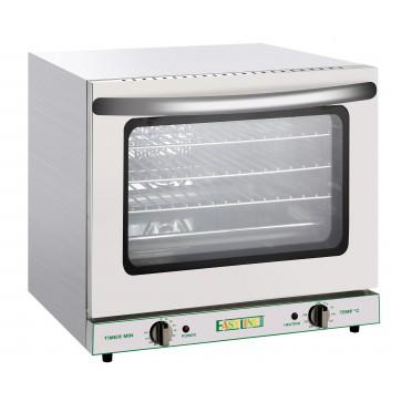 Forno convezione elettrico 4 griglie mm 450x330 fornetto bar 66 lt MF V 230