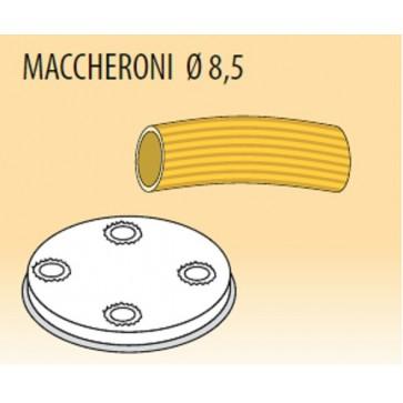 Trafila maccheroni Ø mm 8,5 lega ottone bronzo per macchina pasta Fimar MPF1,5N