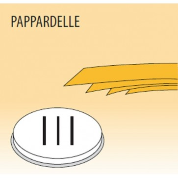 Trafila pappardelle mm 16 in lega ottone bronzo per macchina pasta Fimar MPF2,5N e MPF4N