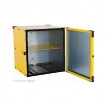 Portapizze rigido cassa termica consegna domicilio con piastra per motorino