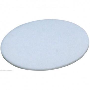 Tagliere per pizza in polietilene Ø cm 35 bianco nylon professionale rotondo