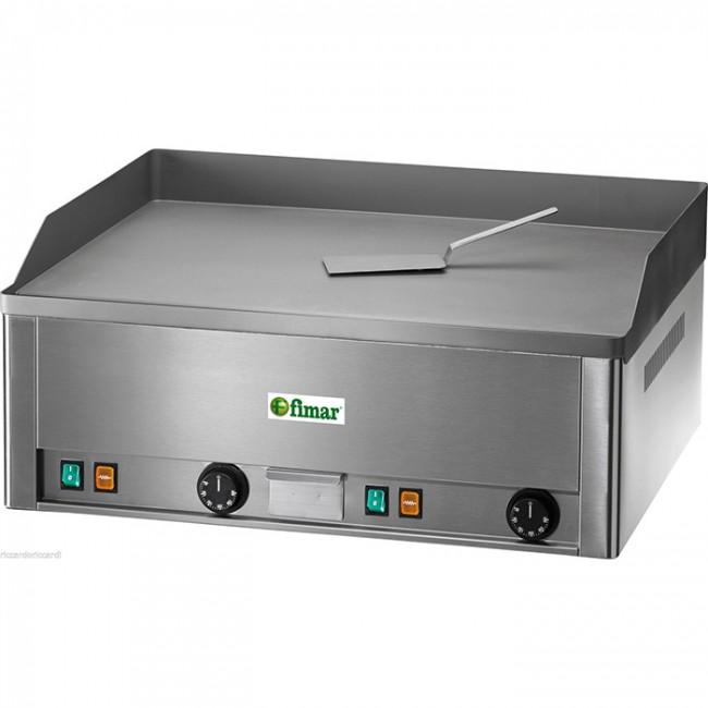 Fry top elettrico professionale piastra liscia doppia bistecchiera elettrica tf - Piastra elettrica cucina ...