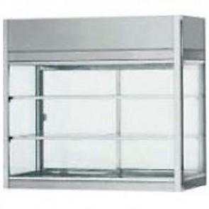 Vetrinetta refrigerata ventilata acciaio inox 18/10 professionali LUCI LED 4720
