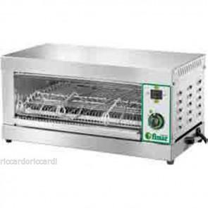 TOSTIERA PROFESSIONALE A 3 PINZE Inox Tostapane Toast Pizzette Bar Panini 2200 W