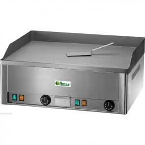 FRY top elettrico professionale piastra liscia doppia bistecchiera elettrica TF