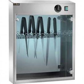 Sterilizzatore per 14 coltelli a raggi UV UVA con timer macelleria professionale