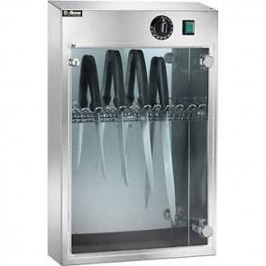 Sterilizzatore per 10 coltelli a raggi UV UVA con timer macelleria professionale