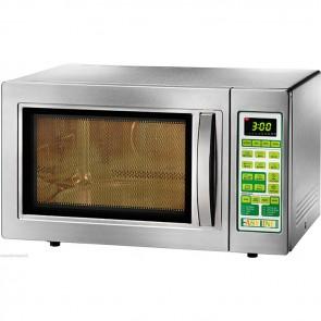 Forno a microonde 900 Watt acciaio convezione e grill professionale forni Lt. 25