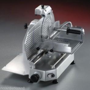 AFFETTATRICE VERTICALE Carni Lama mm 330 Affilatoio Incorporato Professionale MF