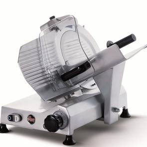 Affettatrice inclinata lama mm 250 affilatoio incorporato uso professionale FAC F250I PRO