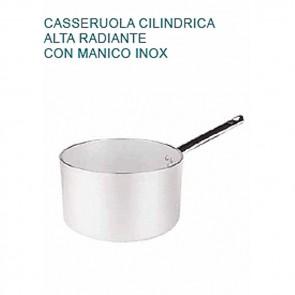 CASSERUOLA Alluminio 5 Øcm28X16H Radiante 1 MANICO Professionale Pentole Agnelli