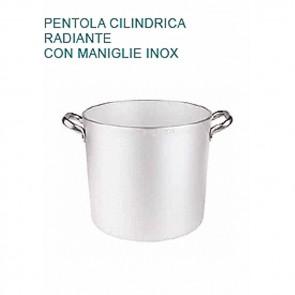PENTOLA Alluminio mm5 Ø cm40X37H Radiante 2 MANICI Professionale Pentole Agnelli