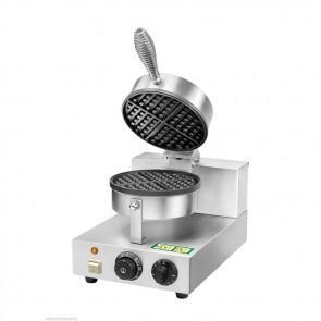 Macchina per waffle con piastra teflonata Ø mm 185 waffle machine wafflemaschine