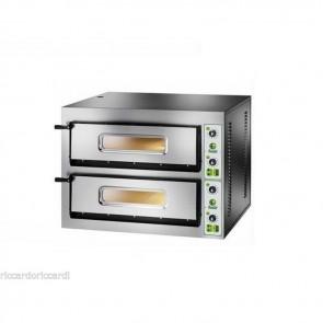 FORNO ELETTRICO PIZZA 2 CAMERE CM 72X108 TF 400 V Professionale 18000 Watt pizze