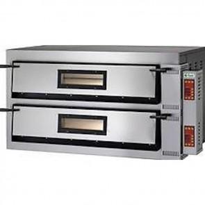 FORNO ELETTRICO PIZZA 2 CAMERE CM 108X108 TF400 V Professionale 26400W DIGITALE