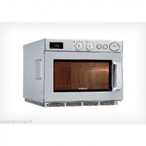 Forno a microonde 1500 Watt Samsung acciaio inox professionale 2 magnetron Lt 26