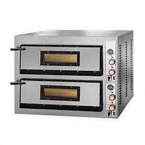 FORNO ELETTRICO PIZZA 2 CAMERE CM 108X108 TF400 V Professionale 26400W PIROMETRO