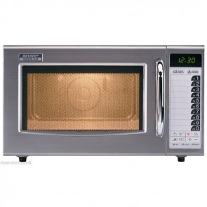 Forno a microonde SHARP professionale 1000 Watt digitale inox Modello R-15AT