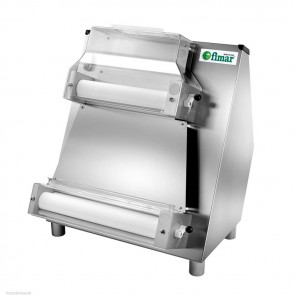 STENDIPIZZA A DUE COPPIE DI RULLI mm 420 PARALLELI Professionale Stendi Pizza MF