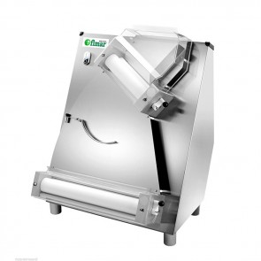 STENDIPIZZA A DUE COPPIE DI RULLI mm 420 INCLINATI Professionale Stendi Pizza MF