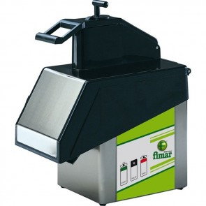 TAGLIA VERDURA professionale per affettare frutta ortaggi 0,37 KW 0,5 HP inox