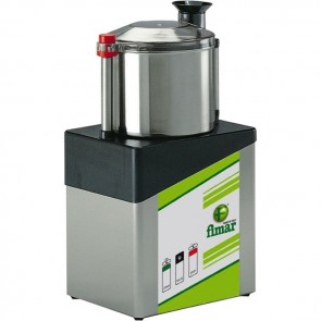 CUTTER professionale Coltello 2 lame ACCIAIO INOX capacita 8 litri 2 velocita TF