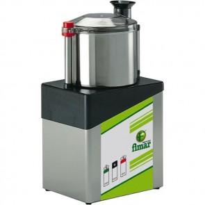 CUTTER professionale Coltello 2 lame ACCIAIO INOX capacità 5 litri 2 velocità TF