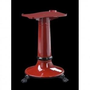 Piedistallo verniciato rosso per affettatrici a volano mm 250/300 supporto Fac