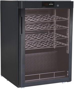 Cantinetta refrigerata per vini statica 1 anta +5°/+18° C capacità 24 bottiglie