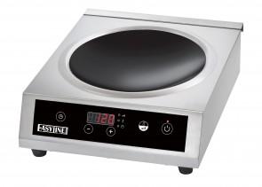 Piastra a induzione wok piano concavo 3500 watt vetroceramica Easyline BT350W
