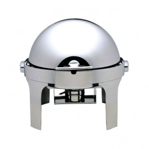 CHAFING DISHES tondo cop. roll top 180° cm 50x52x45H professionale scaldavivande