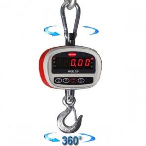 Dinamometro elettronico portata Kg 300 div. g 100 bilancia aerea appesa CS300