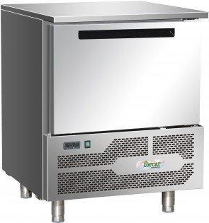 Abbattitore congelatore capacità 5 griglie GN 1/1 (mm 530X325) o 60X40 +3/-18 C