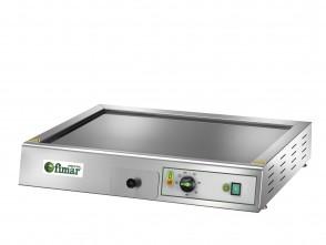 Fry Top elettrico piastra liscia in vetroceramica bistecchiera Professionale MF