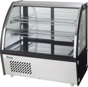 ESPOSITORE REFRIGERATO DA BANCO mm 873X580X670H +2°/+8°C professionale ventilato