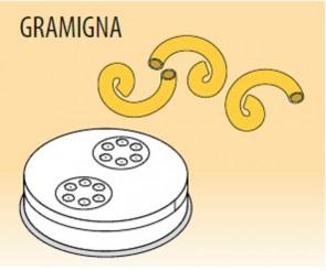 Trafila gramigna Ø mm 3,5 in lega ottone bronzo per macchina pasta Fimar MPF2,5N e MPF4N