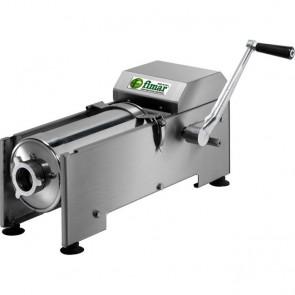 INSACCATRICE per carne manuale 7 litri orizzontale INOX professionale insaccare
