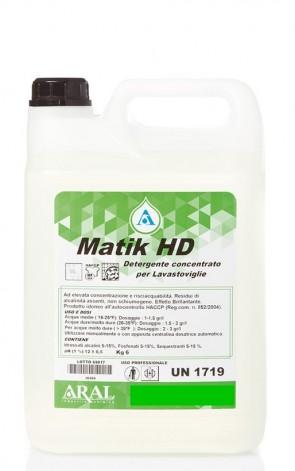 Confezione 4 taniche da Kg 6 cadauna di detergente liquido per lavastoviglie industriali